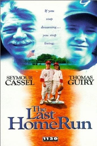 The Last Home Run Poster