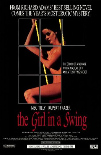 The Girl in a Swing Poster