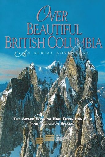 Over Beautiful British Columbia: An Aerial Adventure Poster