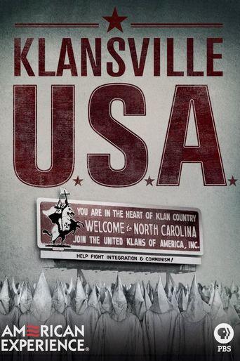 Klansville U.S.A. Poster