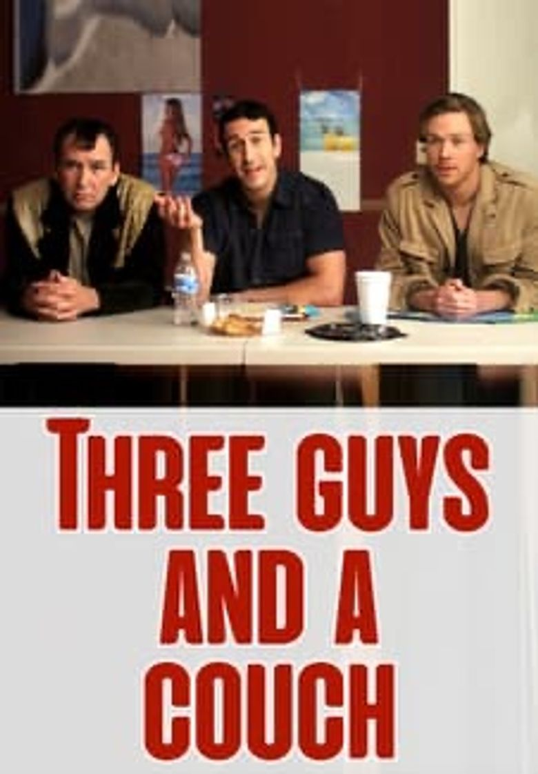 Three Guys & a Couch Poster