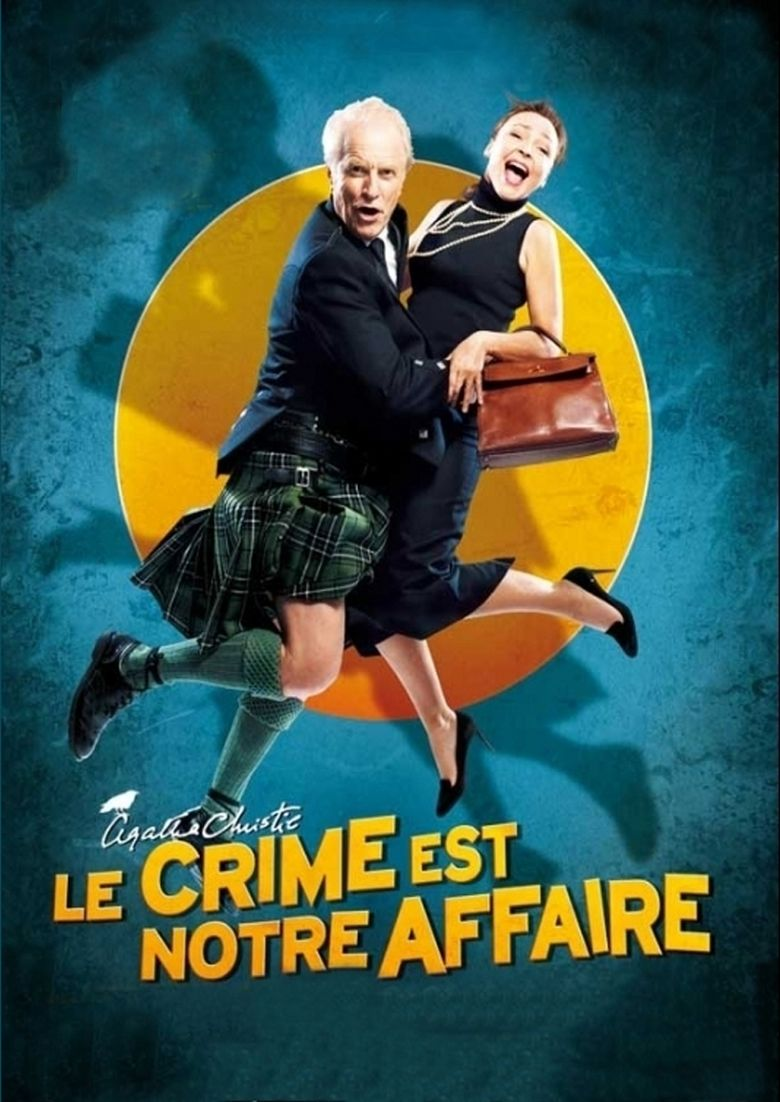 Crime Is Our Business Poster