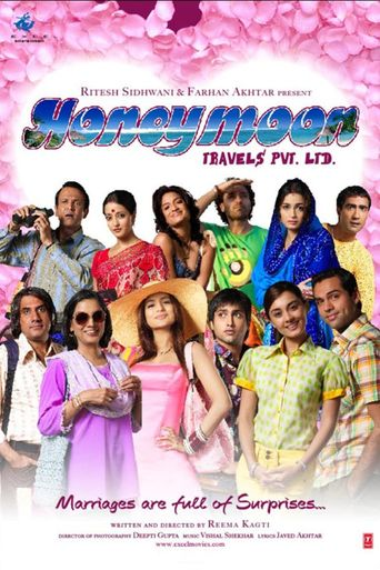 Honeymoon Travels Pvt. Ltd. Poster