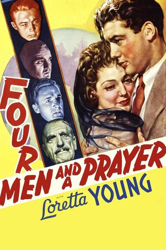 Four Men and a Prayer Poster