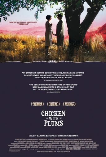 Chicken with Plums Poster
