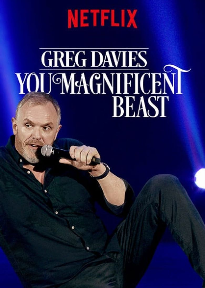 Greg Davies: You Magnificent Beast Poster