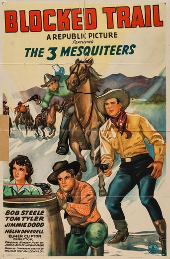 The Blocked Trail Poster