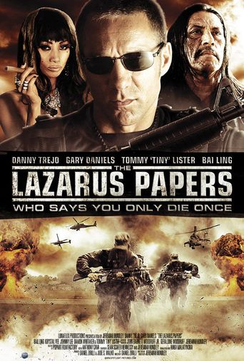The Lazarus Papers Poster
