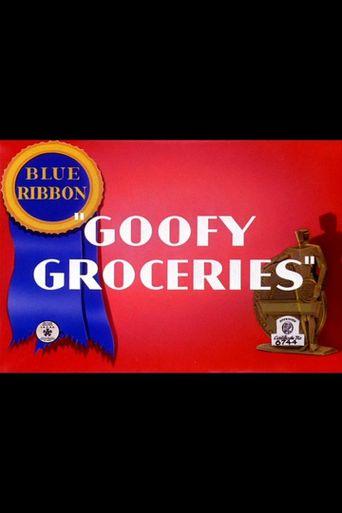 Goofy Groceries Poster