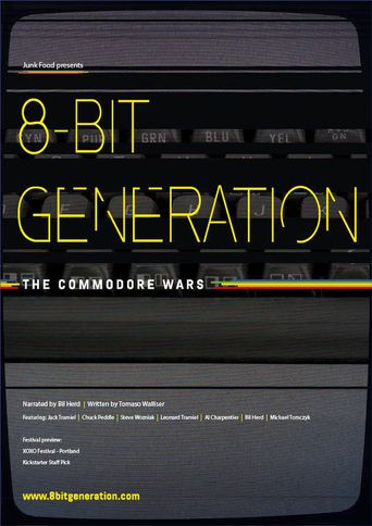 8-Bit Generation: The Commodore Wars Poster