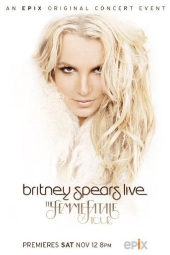 Britney Spears: The Femme Fatale Tour Poster