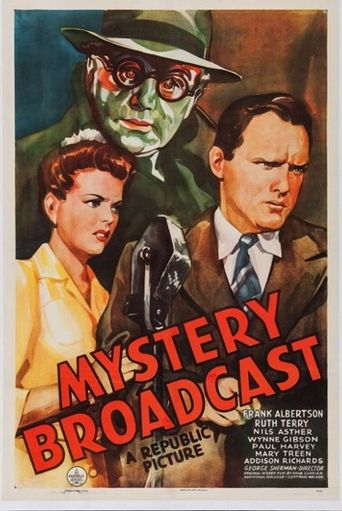 Mystery Broadcast Poster