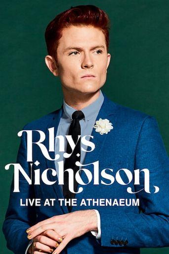 Rhys Nicholson: Live at the Athenaeum Poster
