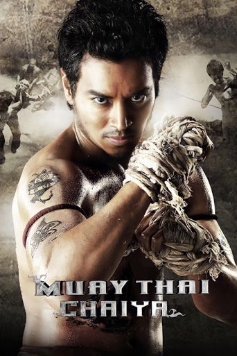 Muay Thai Fighter Poster