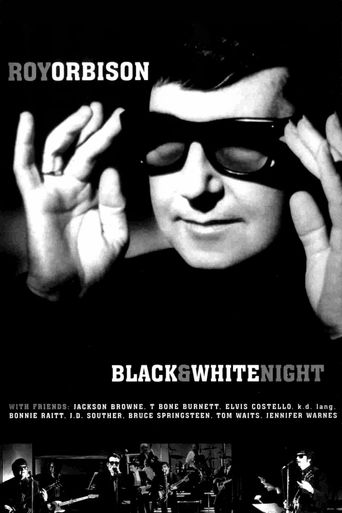 Roy Orbison: Black & White Night Poster