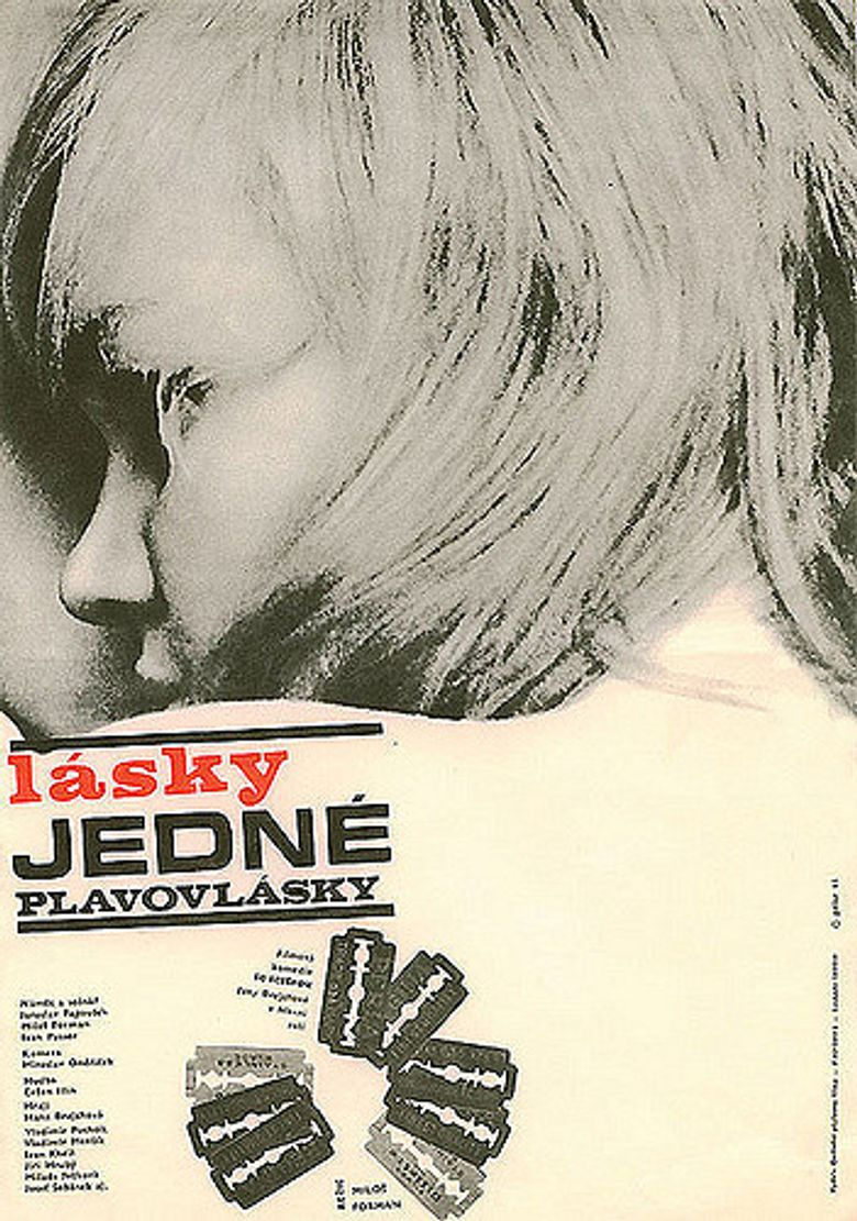 Loves of a Blonde Poster
