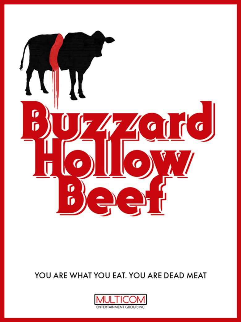 Buzzard Hollow Beef Poster