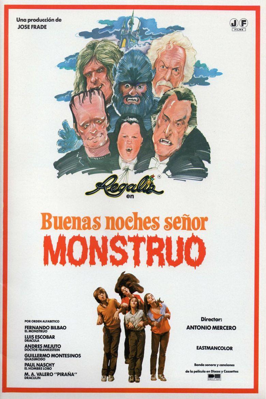 Good Evening, Mr. Monster Poster