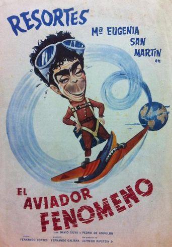 El aviador fenómeno Poster
