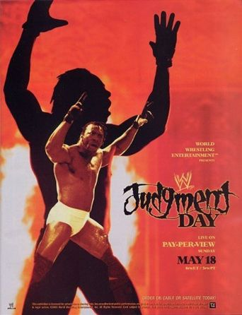 WWE Judgment Day 2003 Poster