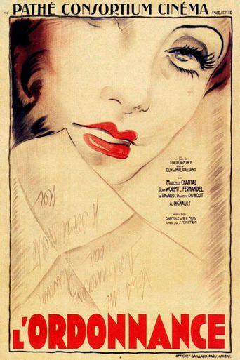 L'Ordonnance Poster