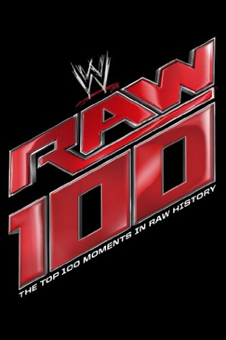 WWE: The Top 100 Moments In Raw History Poster