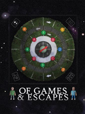 Of Games & Escapes Poster