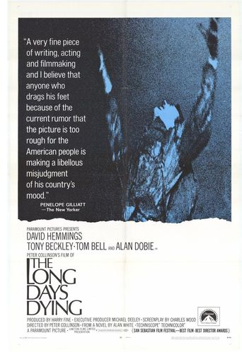 The Long Day's Dying Poster