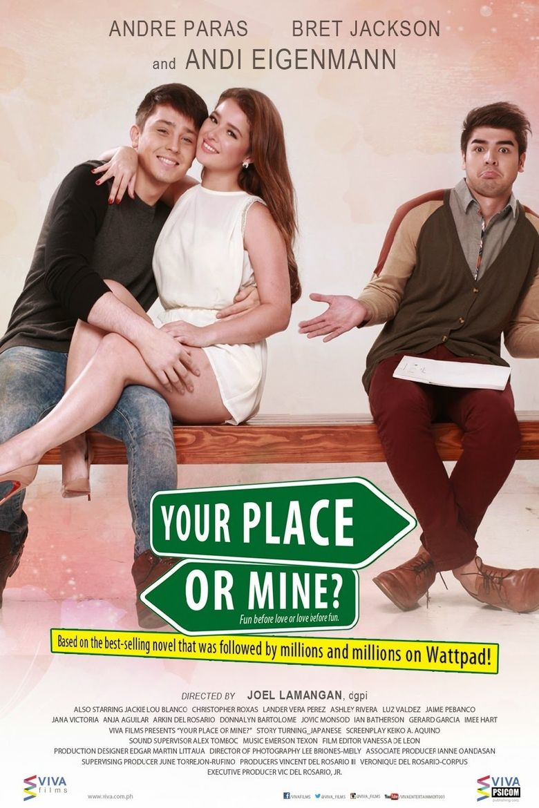 Your Place or Mine? Poster
