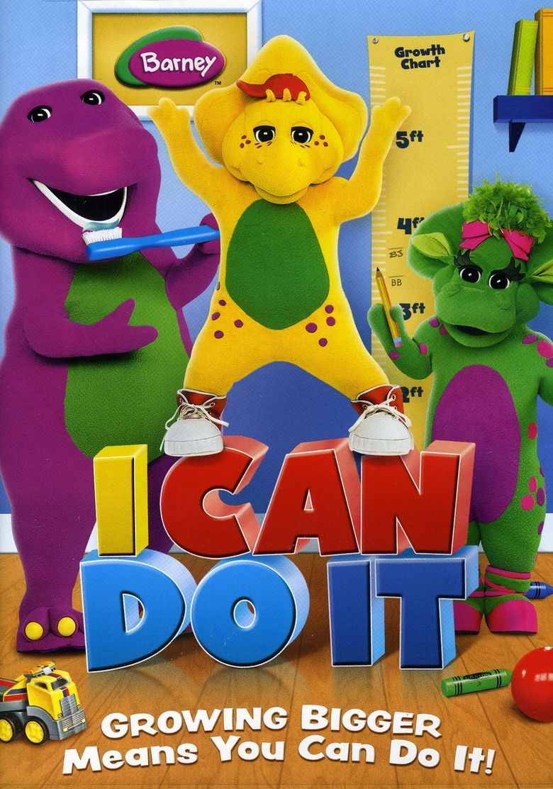 Barney: I Can Do It Poster