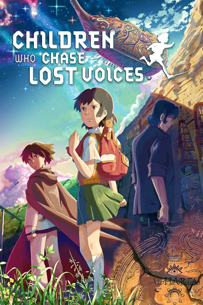 Children Who Chase Lost Voices Poster