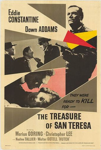 The Treasure of San Teresa Poster