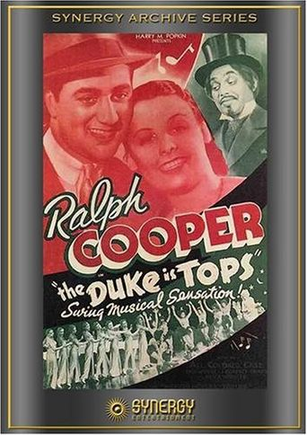 The Duke Is Tops Poster