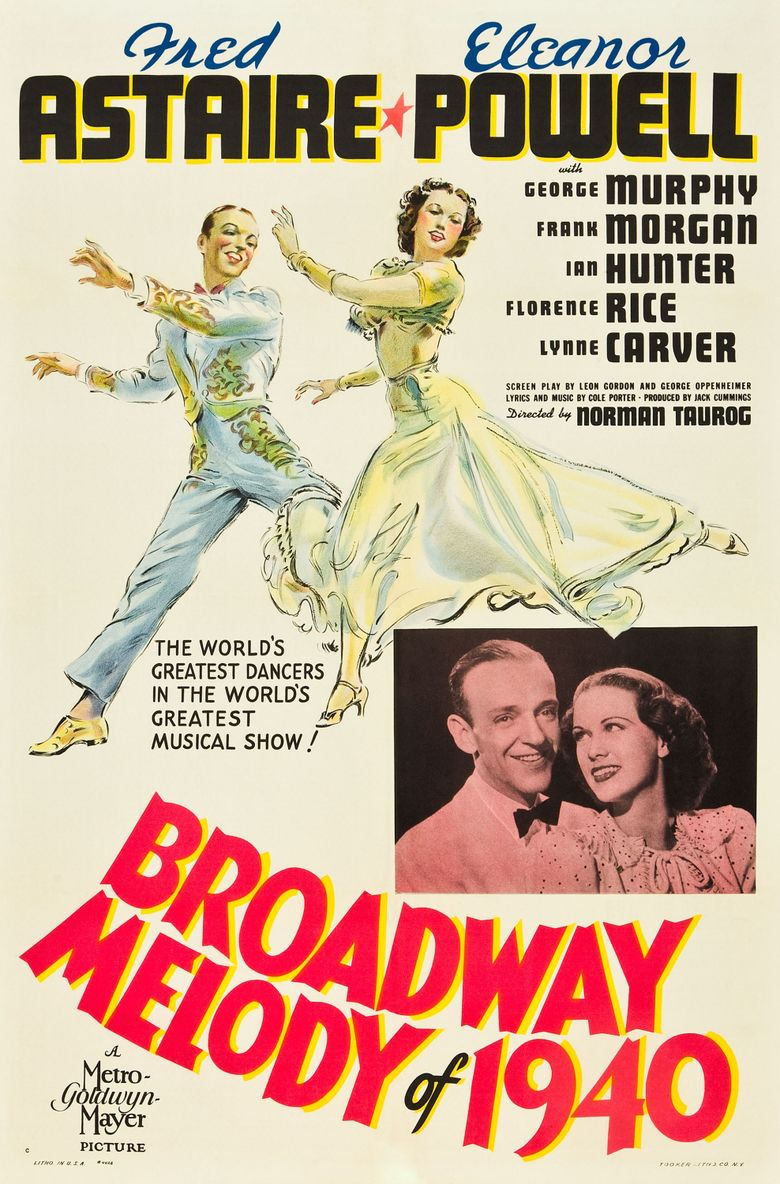 Broadway Melody of 1940 Poster