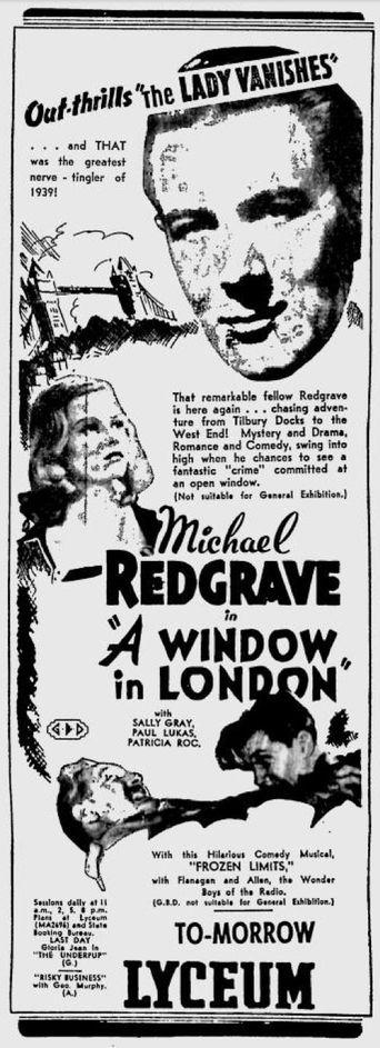 A Window in London Poster