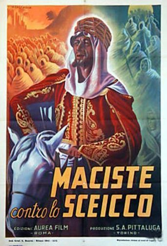 Maciste in Africa Poster