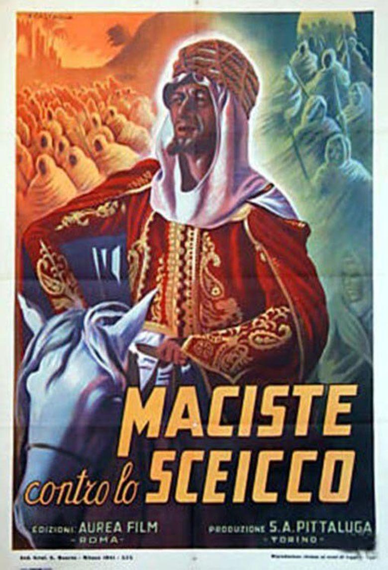 Maciste in Africa Poster
