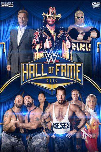 WWE Hall of Fame 2015 Poster