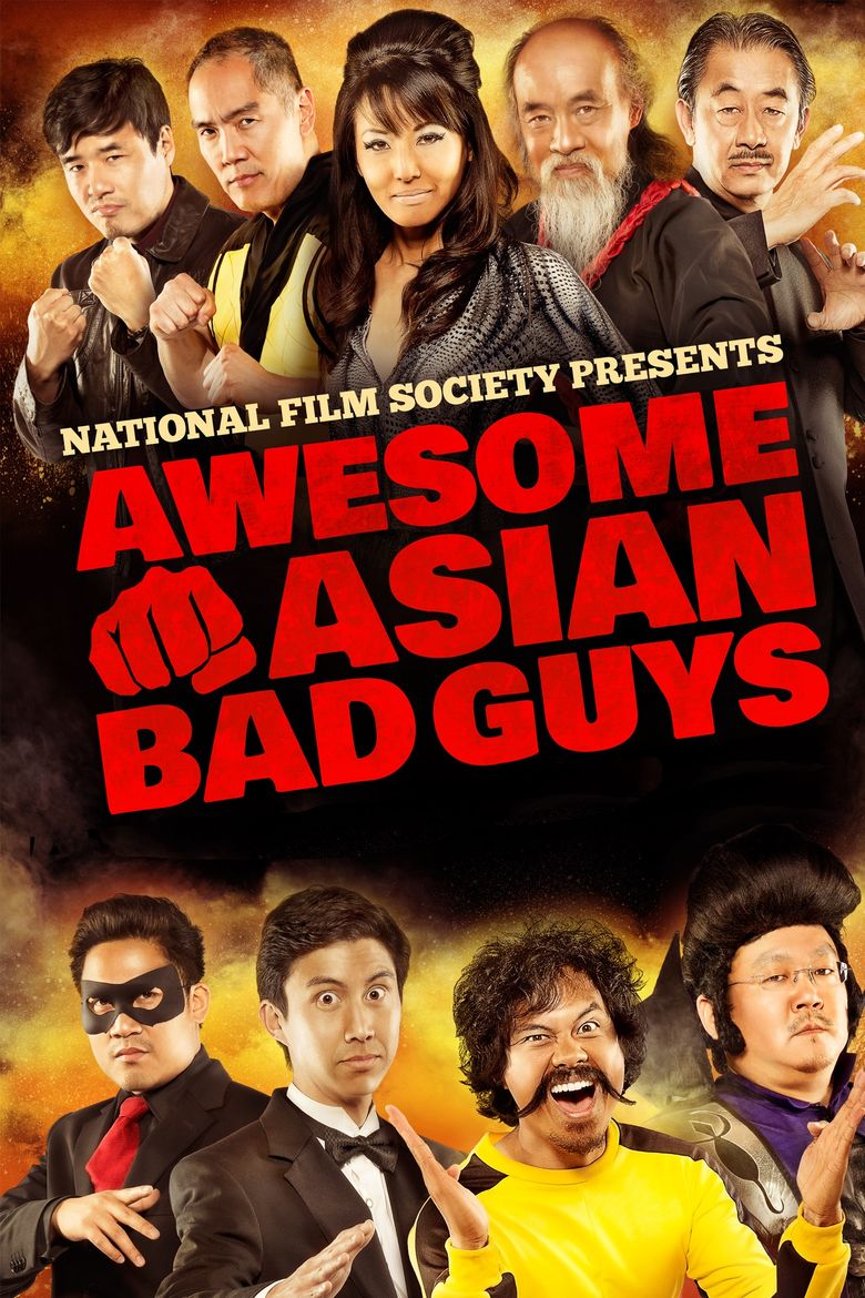 Awesome Asian Bad Guys Poster