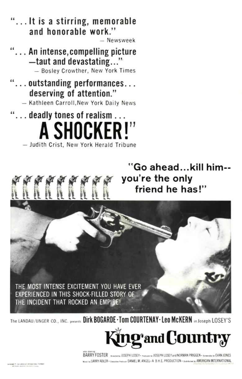 King and Country Poster