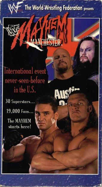 WWE Mayhem in Manchester Poster