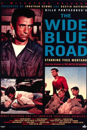 The Wide Blue Road Poster