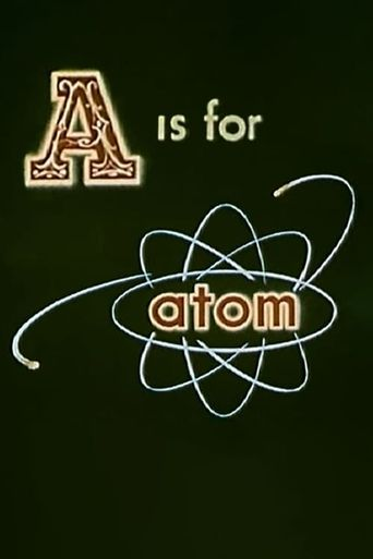 A is for Atom Poster