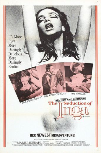 The Seduction of Inga Poster