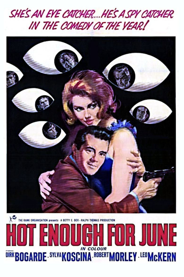 Hot Enough for June Poster