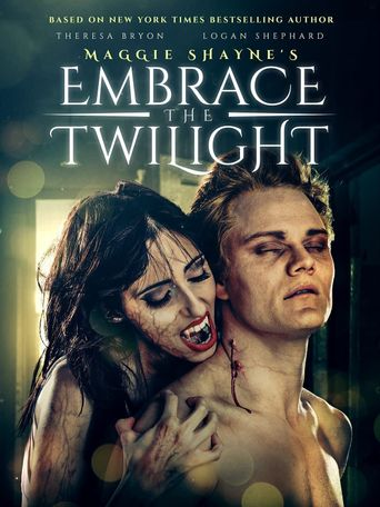 Maggie Shayne's Embrace the Twilight Poster