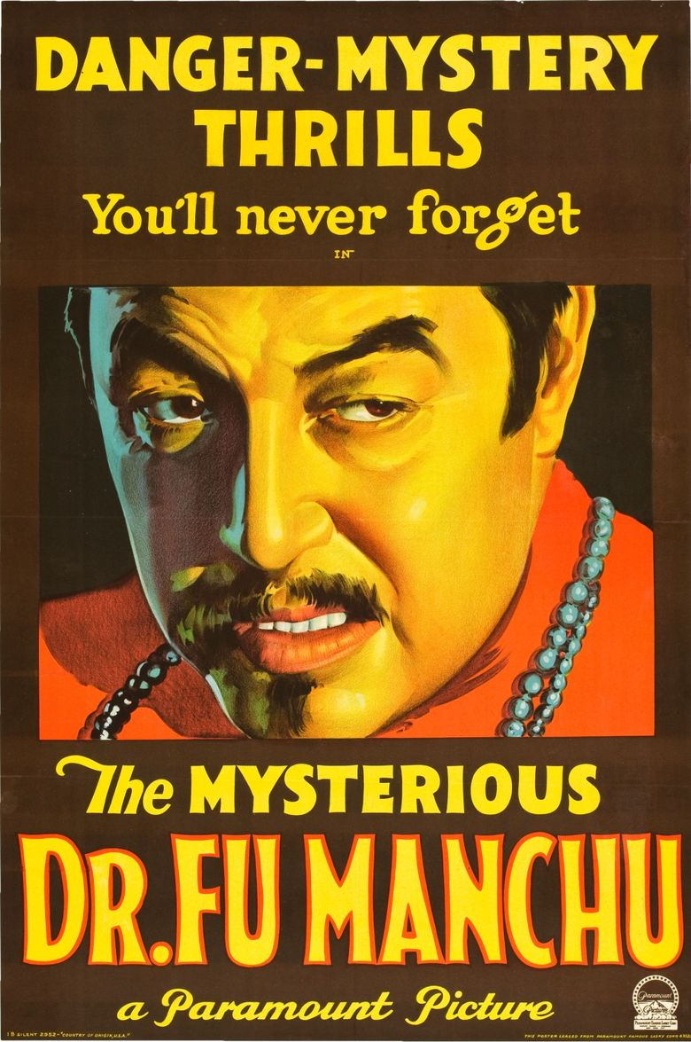 The Mysterious Dr. Fu Manchu Poster