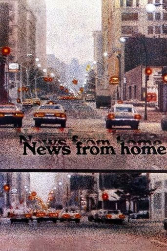 News from Home Poster