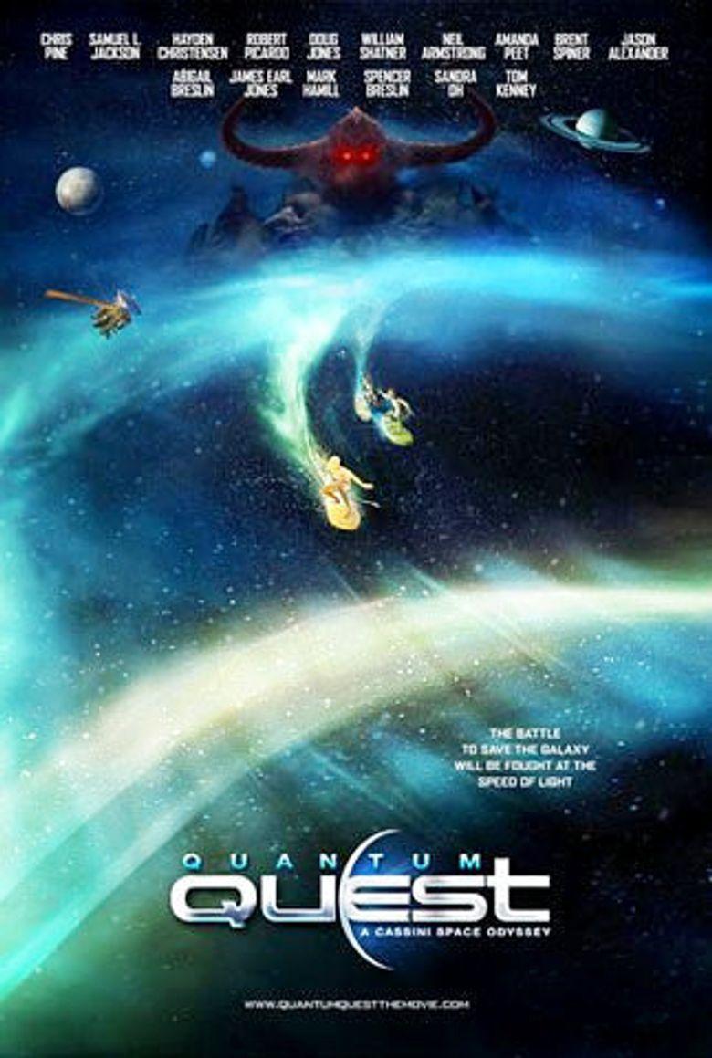 Quantum Quest: A Cassini Space Odyssey Poster