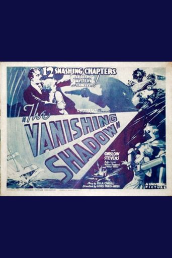 The Vanishing Shadow Poster